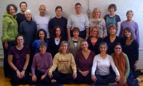 IMAGE: The Yellow Springs Dharma Center and Yoga Springs Studio jointly hosted Yantra Yoga Instructor Lynn Sutherland in October 2009 for a weekend end of teachings.